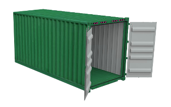20ft x 8ft Container